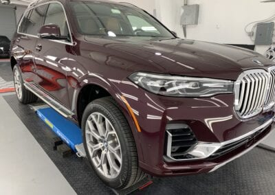 Photo of a New Car Preparation of a 2020 BMW 7-Series