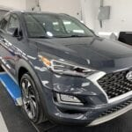 Photo of a New Car Preparation of a 2021 Hyundai Tucson
