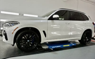 New Car Preparation of a 2020 BMW 5-Series M5