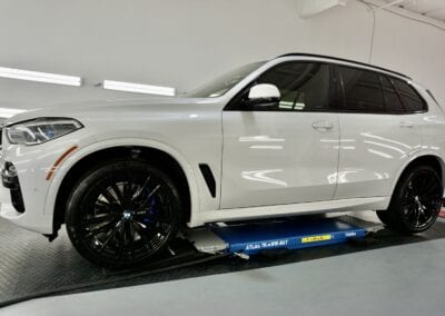 Photo of a New Car Preparation of a 2020 BMW 5-Series M5