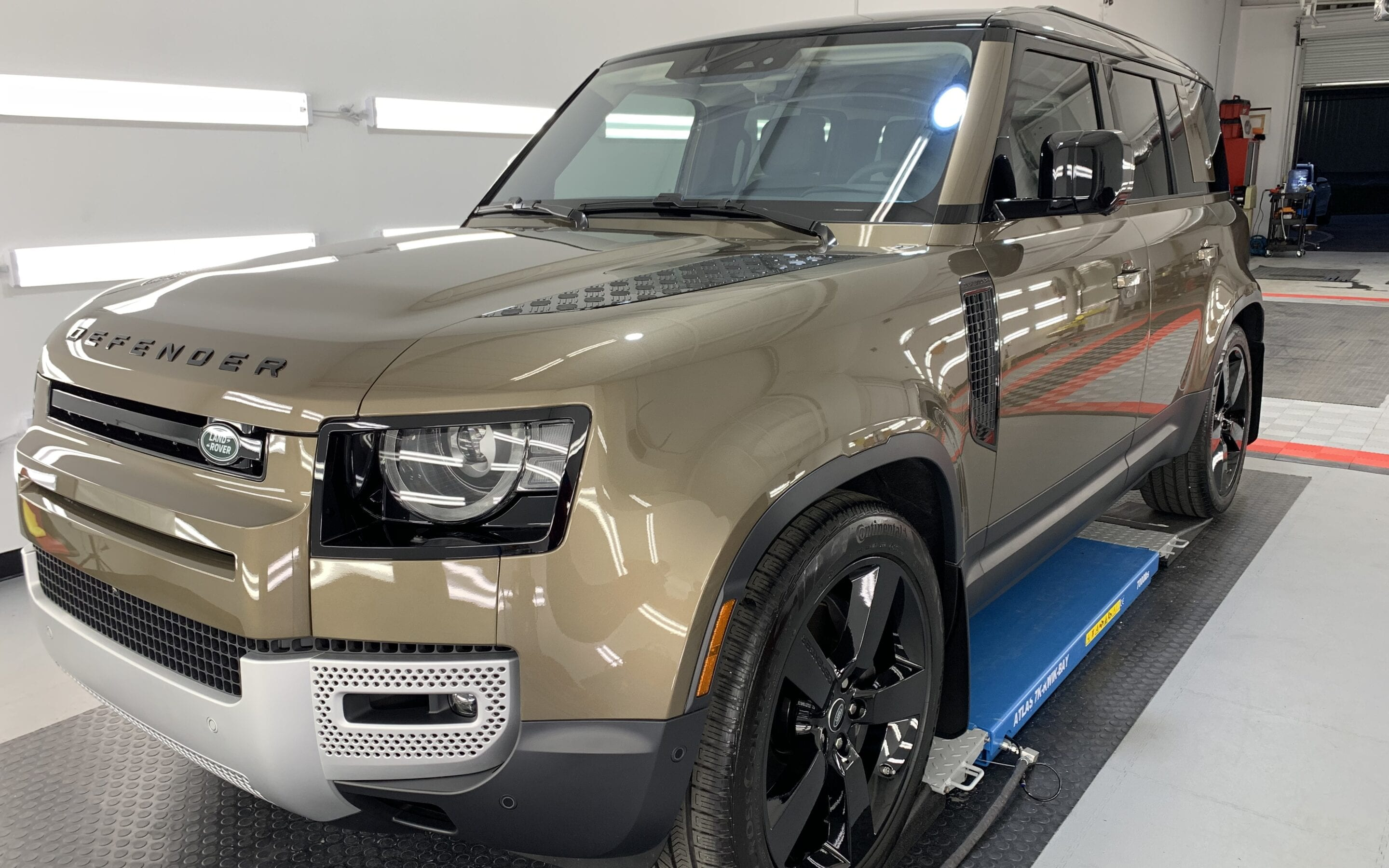Photo of a New Car Preparation of a 2020 Land Rover Defender