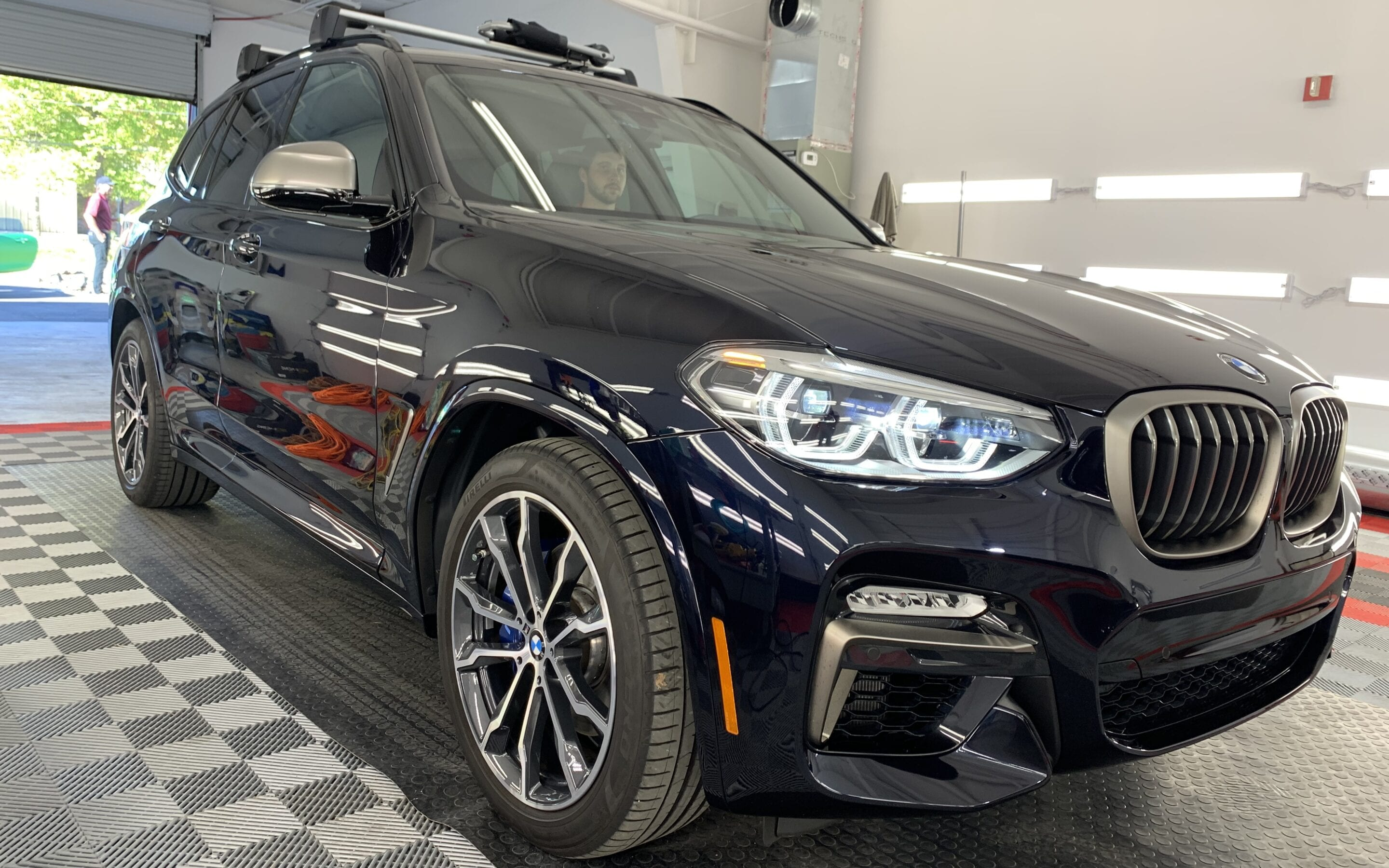 New Car Preparation of a 2020 BMW 3-Series