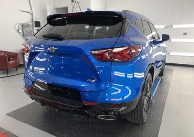 Photo of a New Car Preparation of a 2021 Chevrolet Blazer