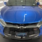 Photo of a New Car Preparation of a 2021 Chevrolet Blazer