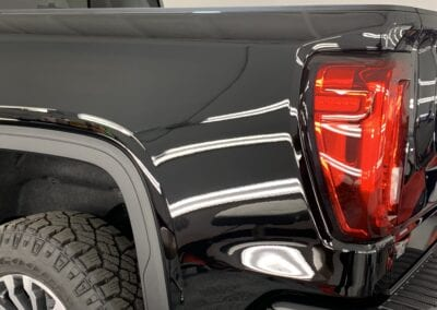 Photo of a New Car Preparation of a 2020 GMC Sierra