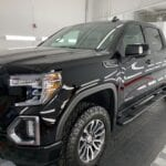Photo of a New Car Preparation of a 2020 GMC Sierra