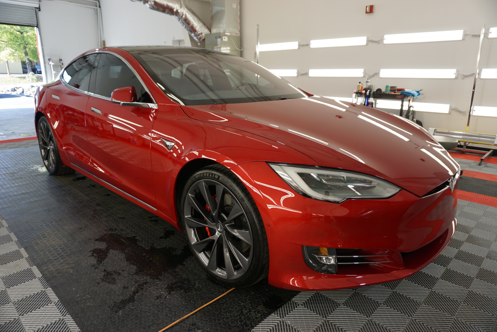 Photo of a Ceramic Coating of a 2019 Tesla Model S