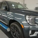 Photo of a New Car Preparation of a 2020 GMC Yukon