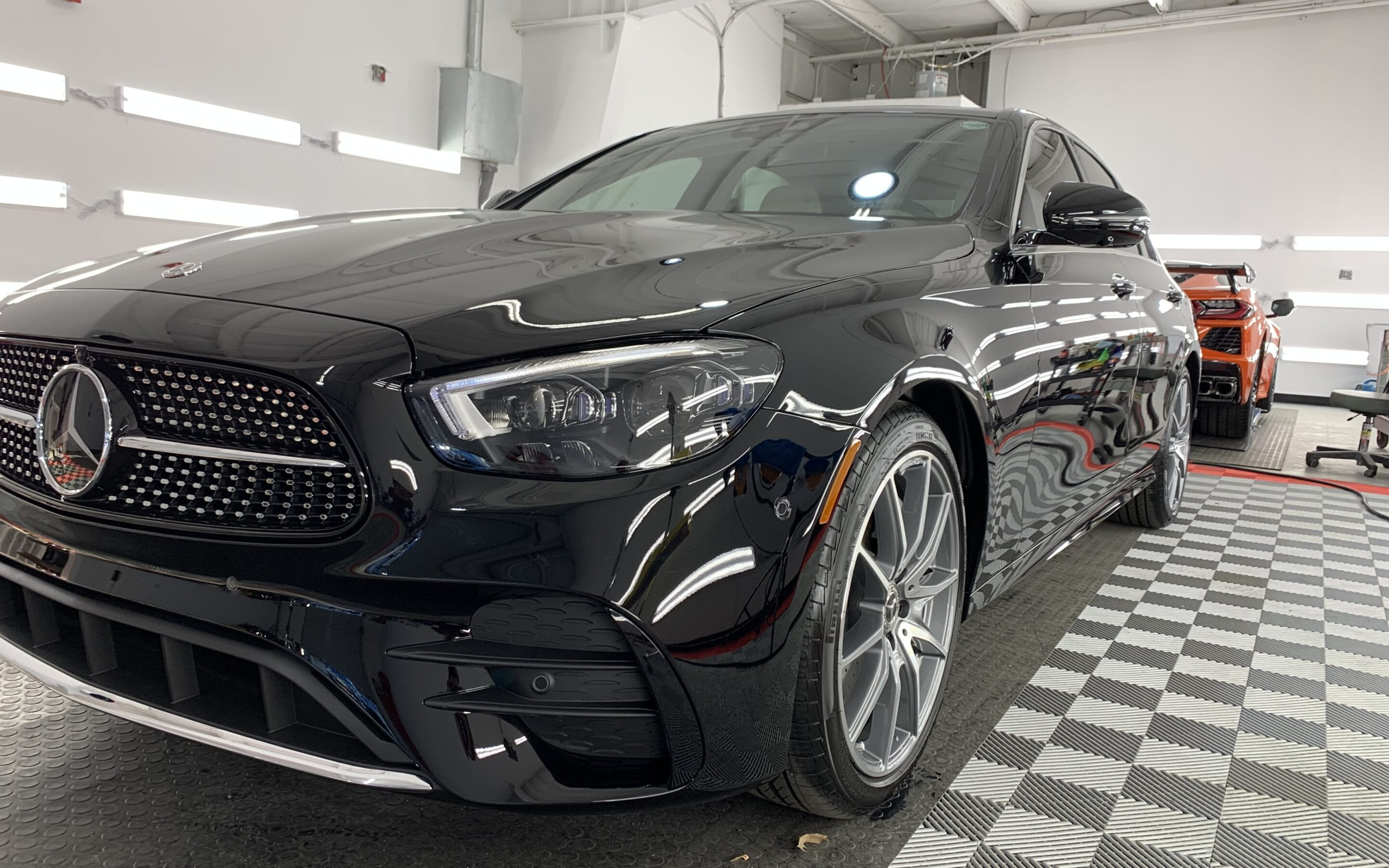 New Car Preparation of a 2020 Mercedes E-Class