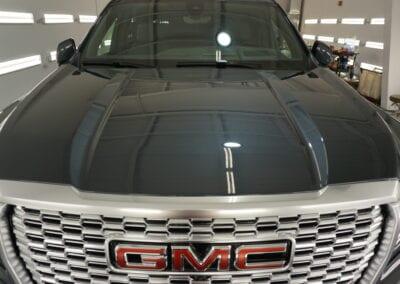 Photo of a New Car Preparation of a 2020 GMC Yukon