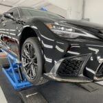 Photo of a New Car Preparation of a 2020 Lexus LS