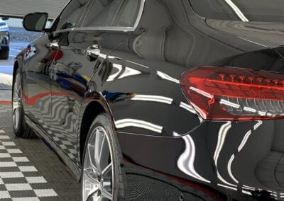 Photo of a New Car Preparation of a 2020 Mercedes E-Class
