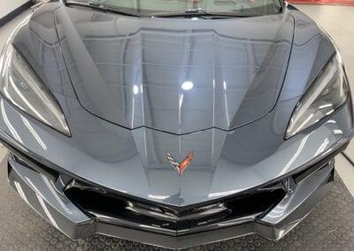 Photo of a New Car Preparation of a 2020 Chevrolet Corvette