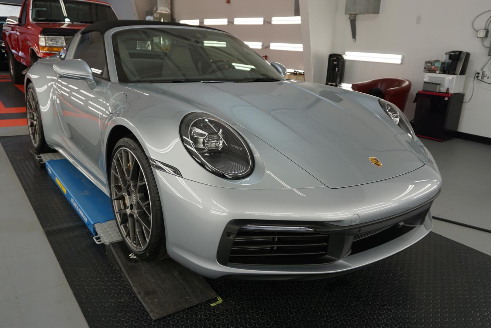 New Car Preparation of a 2020 Porsche 911