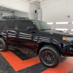 Photo of a New Car Preparation of a 2021 Toyota 4Runner