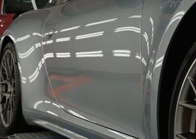 Photo of a New Car Preparation of a 2020 Porsche 911