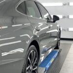 Photo of a New Car Preparation of a 2021 Hyundai Sonata