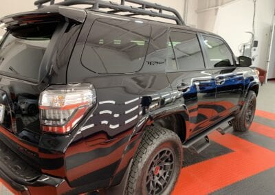 New Car Preparation of a 2021 Toyota 4Runner