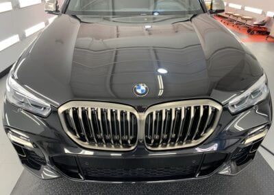 Photo of a New Car Preparation of a 2021 BMW 5-Series M5