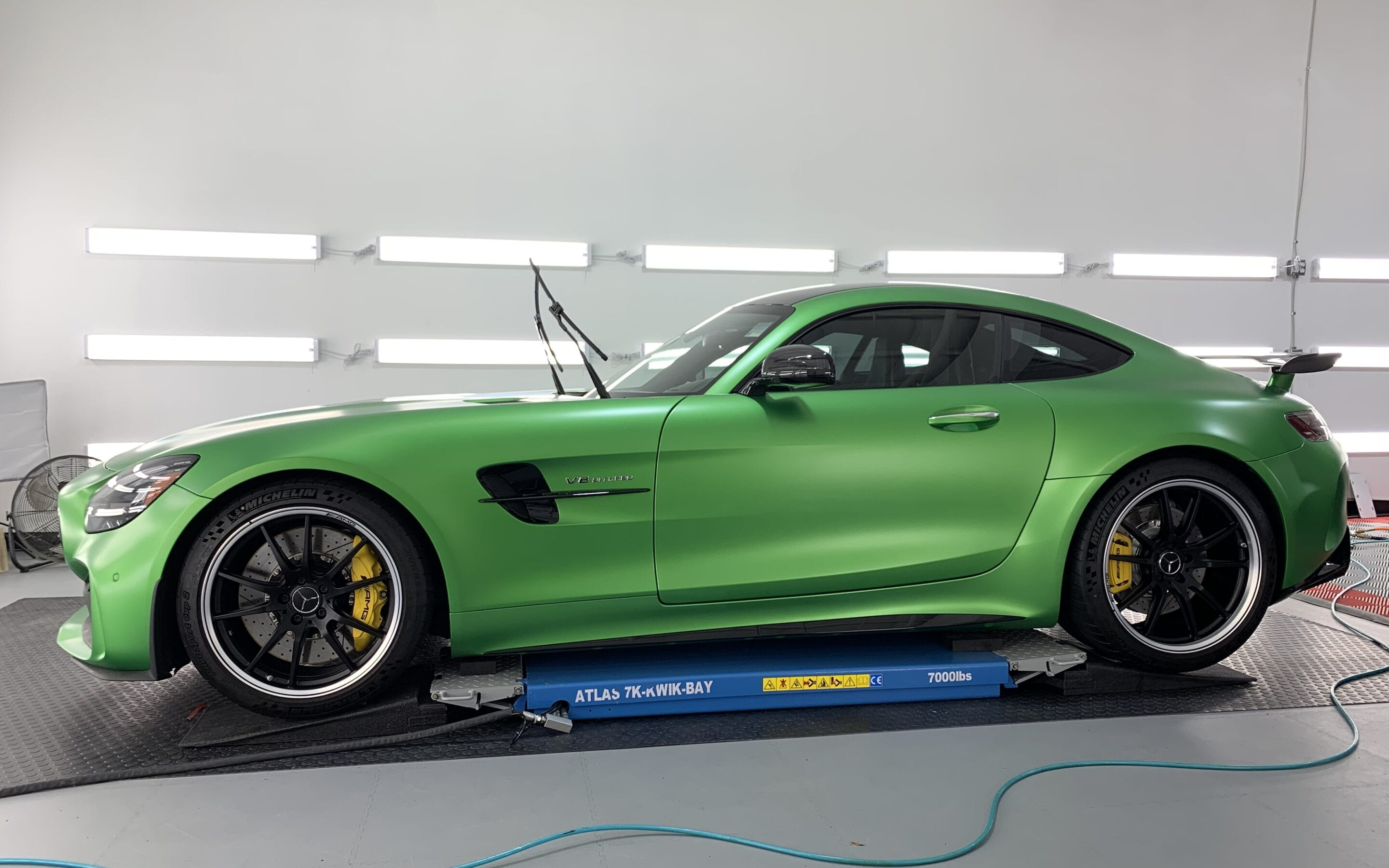 New Car Preparation of a 2020 Mercedes AMG GT