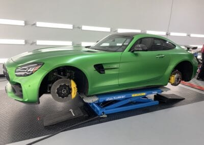 Photo of a New Car Preparation of a 2020 Mercedes AMG GT