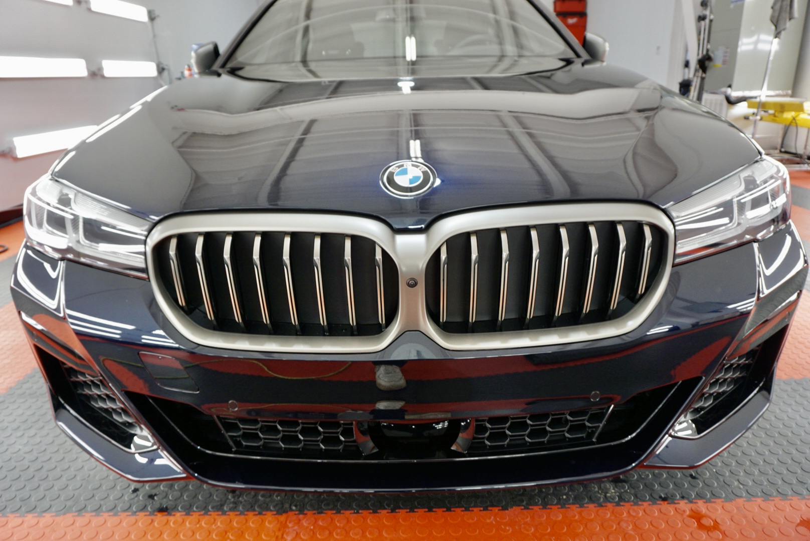New Car Preparation of a 2021 BMW 5-Series M5