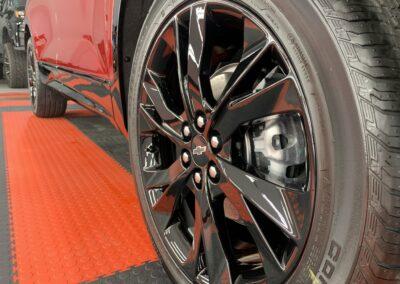 New Car Preparation of a 2021 Chevrolet Blazer