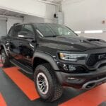 Photo of a New Car Preparation of a 2021 Dodge Ram TRX