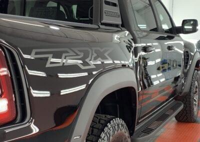Photo of a New Car Preparation of a 2021 Dodge Ram TRX