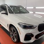 Photo of a New Car Preparation of a 2021 BMW X5