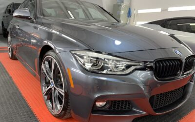 Ceramic Coating of a 2021 BMW 3-Series