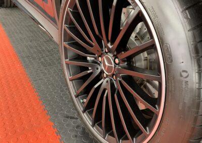 Photo of a Ceramic Coating of a 2021 Mercedes GLC-Class