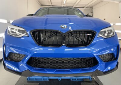 Photo of a New Car Preparation of a 2021 BMW 2-Series M2