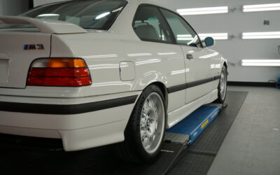 Ceramic Coating of a 1998 BMW 3-Series M3