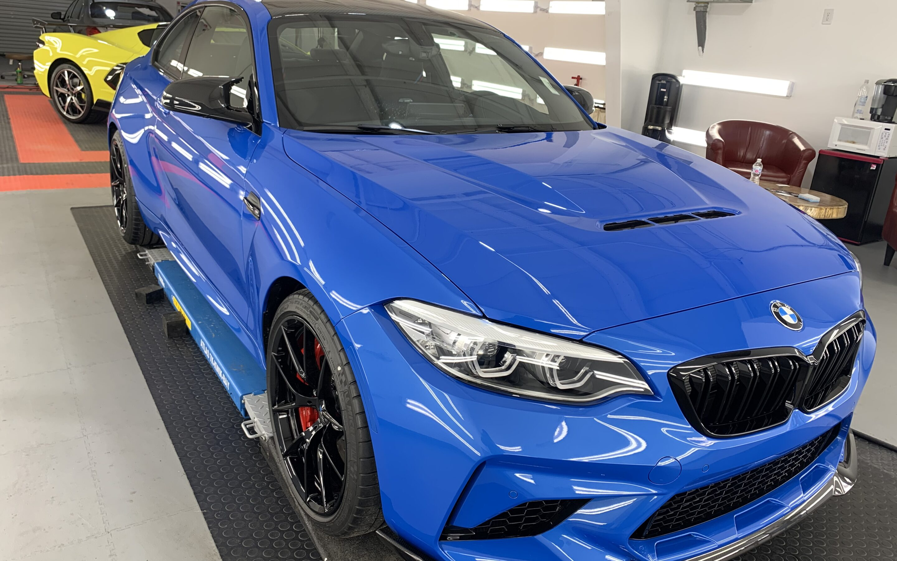 New Car Preparation of a 2021 BMW 2-Series M2