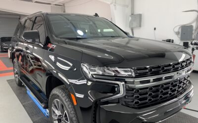 New Car Preparation of a 2020 Chevrolet Tahoe