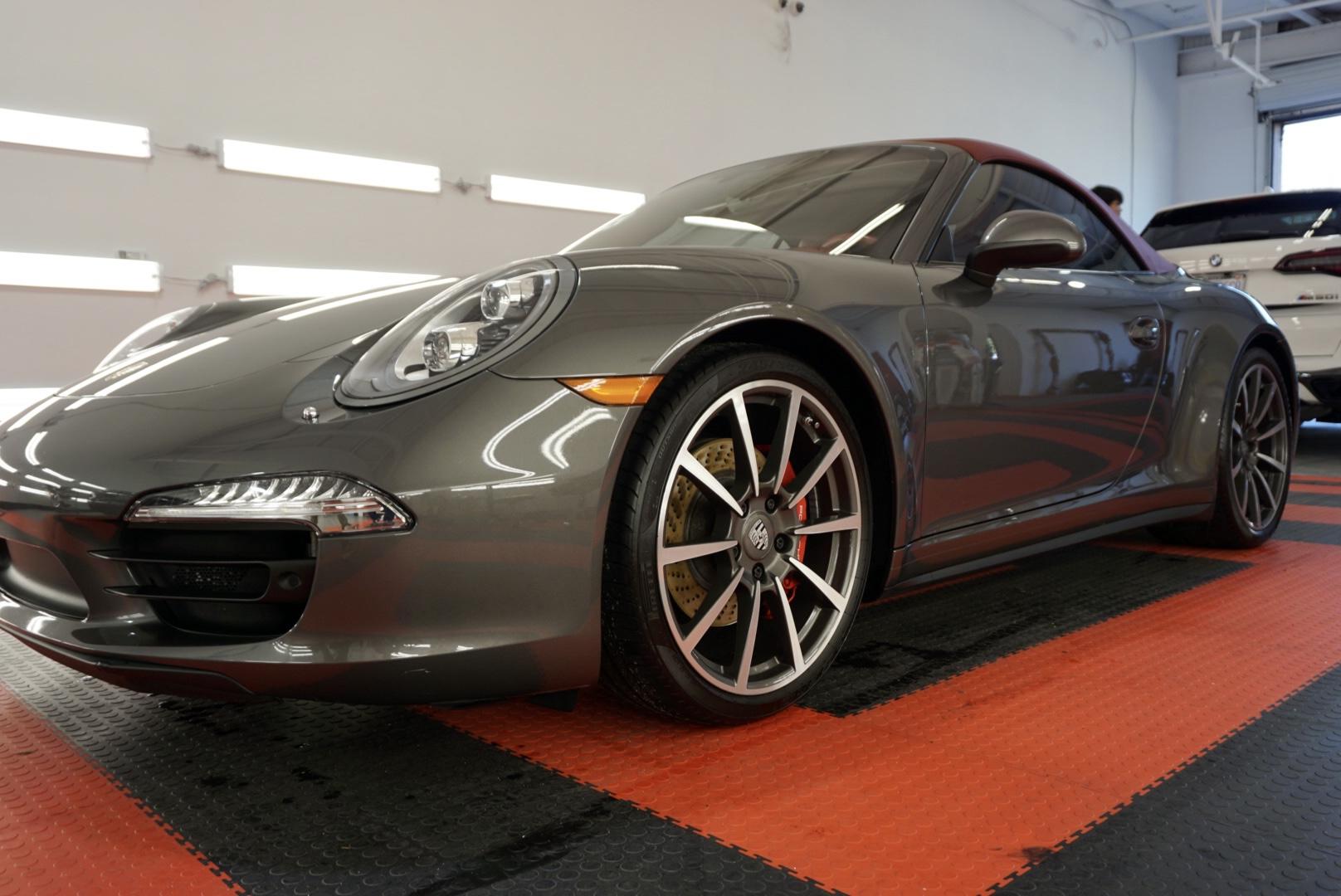 Ceramic Coating of a 2015 Porsche 911