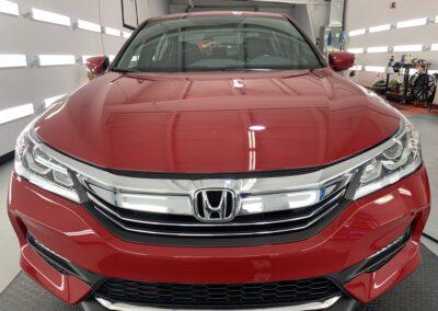 Photo of a Ceramic Coating of a 2017 Honda Accord