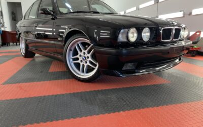 Ceramic Coating of a 1995 BMW 5-Series