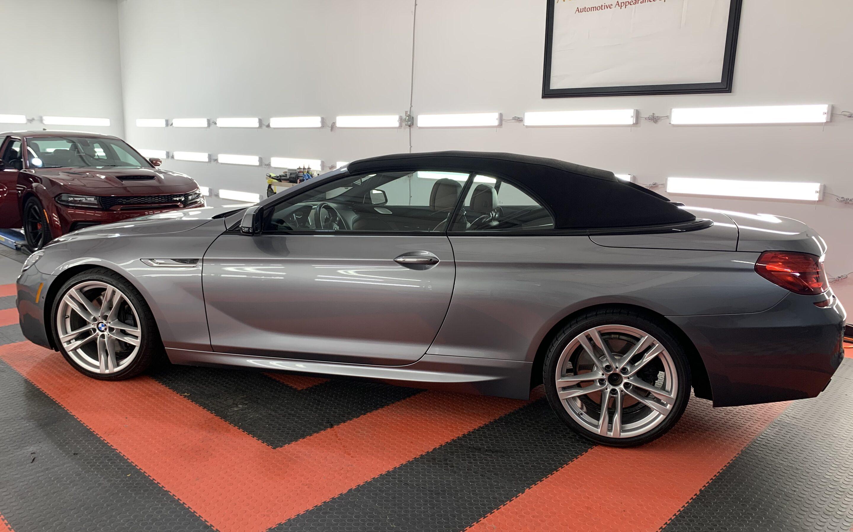 Ceramic Coating of a 2015 BMW 6-Series M6