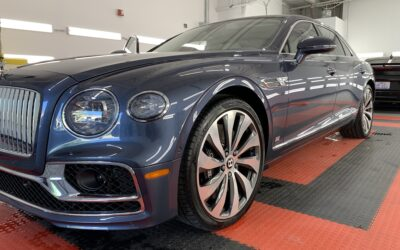 New Car Preparation of a 2021 Bentley Flying Spur