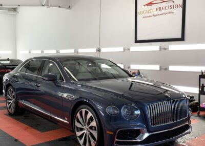 Photo of a New Car Preparation of a 2021 Bentley Flying Spur