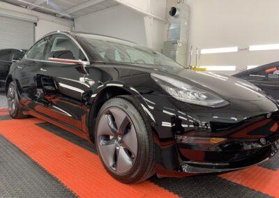 Photo of a Ceramic Coating of a 2019 Tesla Model 3