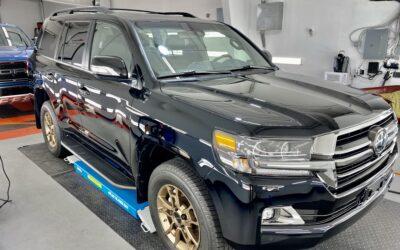 New Car Preparation of a 2021 Toyota Land Cruiser