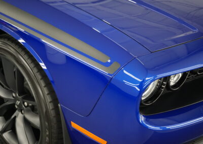 Photo of a New Car Preparation of a 2021 Dodge Challenger