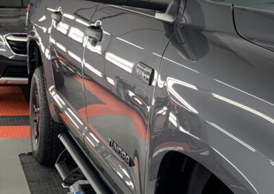 Photo of a New Car Preparation of a 2021 Toyota Tundra