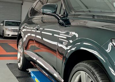 Photo of a New Car Preparation of a 2021 Genesis GV80
