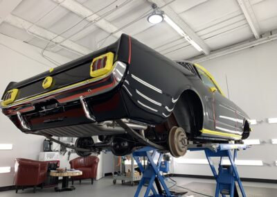 Photo of a Ceramic Coating of a 1965 Ford Mustang