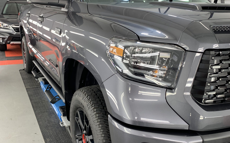 New Car Preparation of a 2021 Toyota Tundra