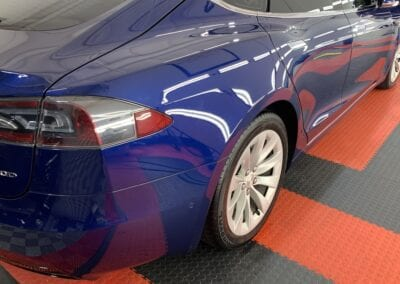 Photo of a Ceramic Coating of a 2018 Tesla Model S